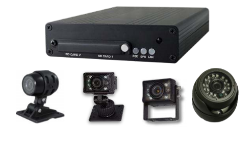 DVR Camera System With Live Streaming Capabilities For